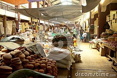 Local market in Sri Lanka - April 2, 2014