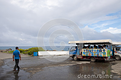 Local Tour in Kenting Editorial Stock Image