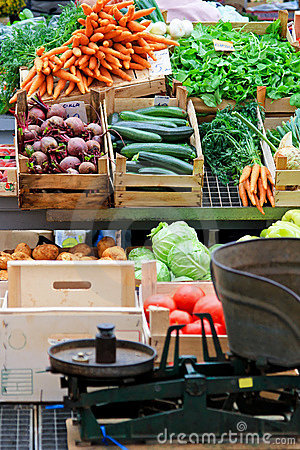 Local vegetables