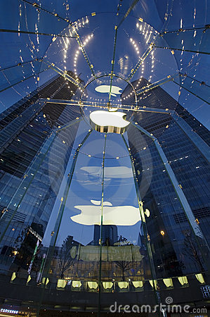 Located in Pudong, Shanghai, China Apple products Editorial Photography
