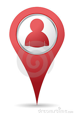 Location people icon