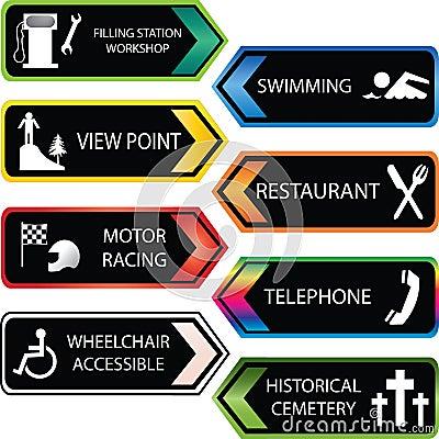 Locations icon set