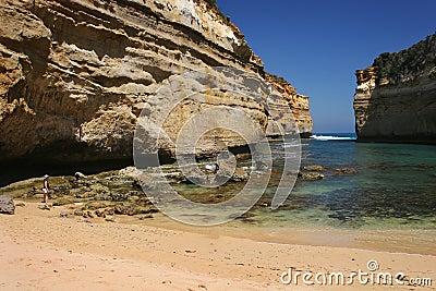 Loch Ard Gorge Beach Australia