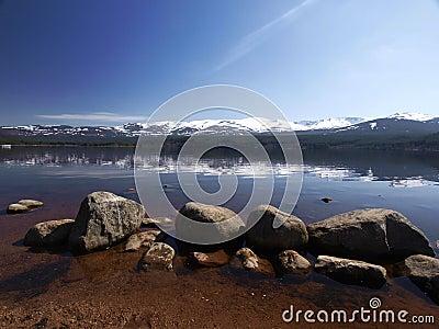 Loch morlich aviemore scotland