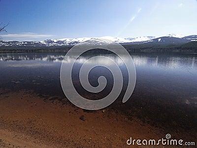 Loch morlich aviemore scotland 2