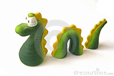 Loch Ness Monster Miniature