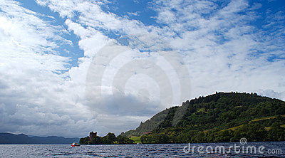 Loch ness monster in scotland
