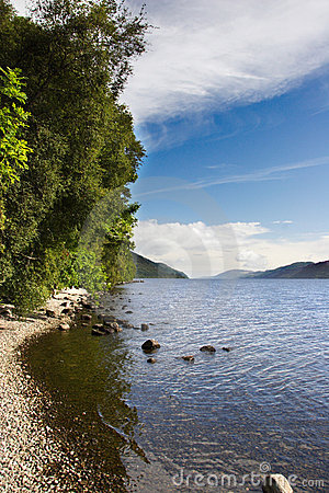 Free Loch Ness Portrait Royalty Free Stock Images - 1210479