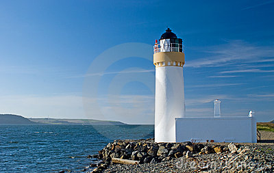Loch ryan lighthouse