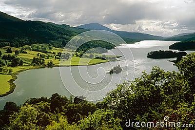 Loch Tummel, Perth and Kinross, Scotland