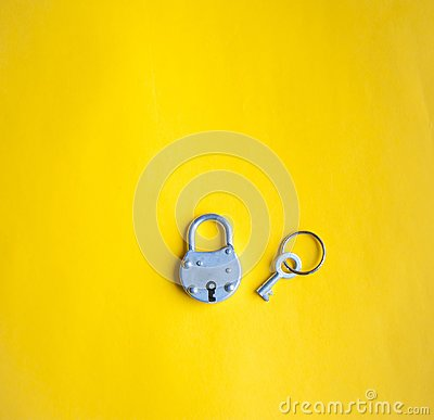 Free Lock And Key Stock Photo - 113643500