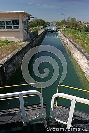 Lock for boat
