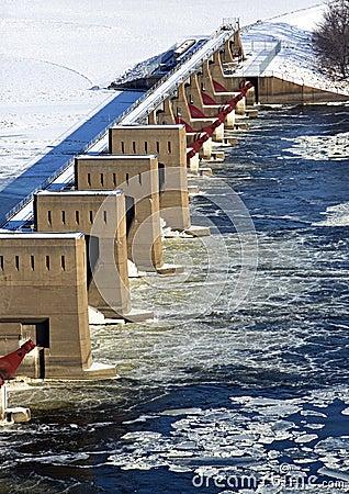 Lock and dam 11 Dubuque Iowa