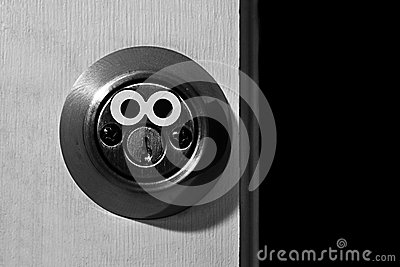 Lock with Eyes