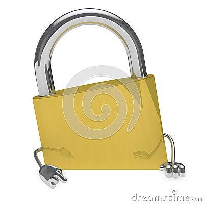 Lock figure