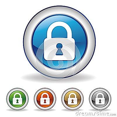 Free Lock Icon Royalty Free Stock Image - 15479636
