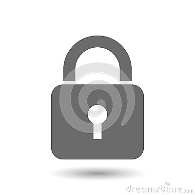 Free Lock Icon Stock Photo - 51836290
