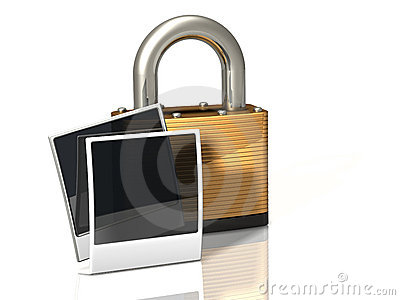 Lock Icon: Photos