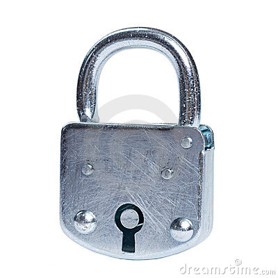 Free Lock Isolated Stock Image - 5477821