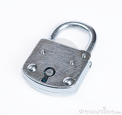 Free Lock Isolated Royalty Free Stock Image - 5658916