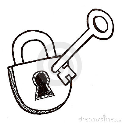 lock and key royalty free stock photography image 8919767