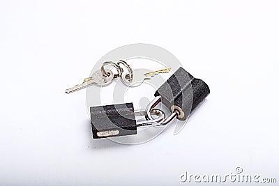 Lock and keys