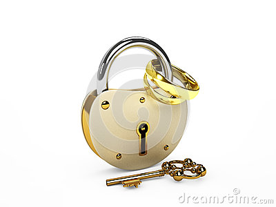 Lock and rings