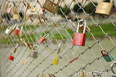Lock symbol love