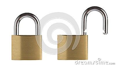 Lock and unlock