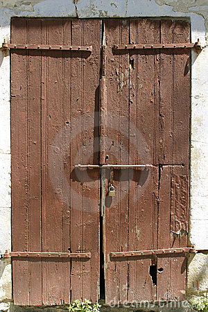 Free Locked Door Royalty Free Stock Photos - 148338
