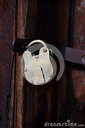 Locked Door - Vertical