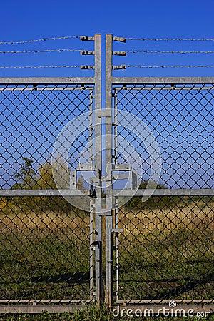 Free Locked Gates Stock Image - 314991