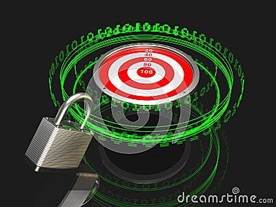 Locked onto a Digital Target