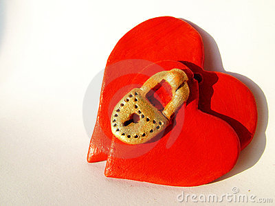 Locked Valentine hearts 1