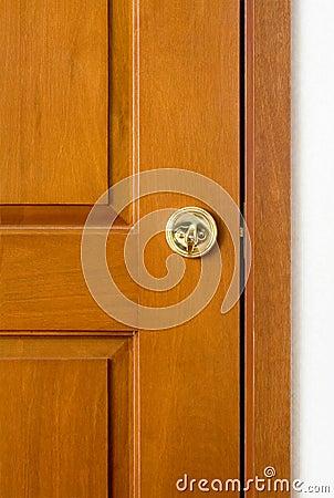Free Locked Wooden Door Stock Photos - 2114433