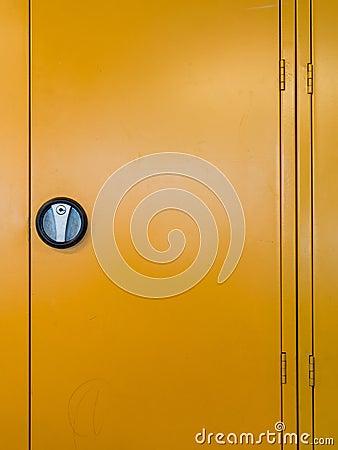 Locker door