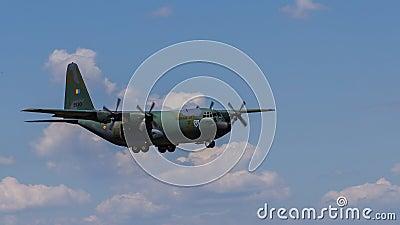 Lockheed C-130B Hercules Editorial Image