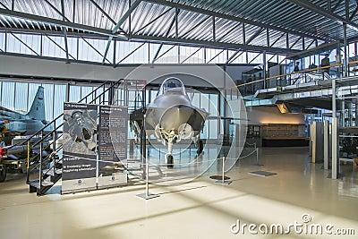 Lockheed martin f-35a lightning II Editorial Photo