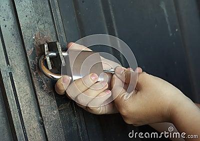 Locking up