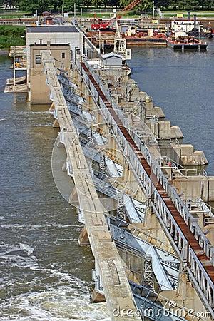 Locks and dam 19
