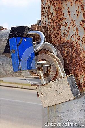 Locks on the gates