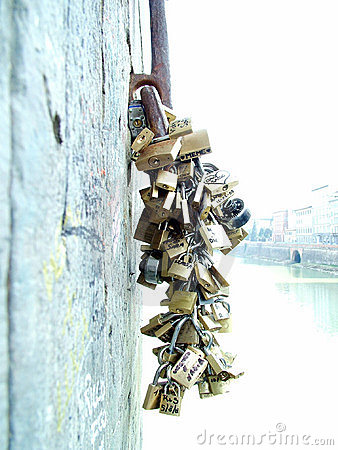 Locks Love on Royalty Free Stock Photo  Locks Of Love  Image  10364925