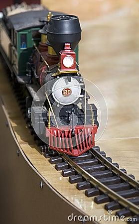 Locomotiva do brinquedo