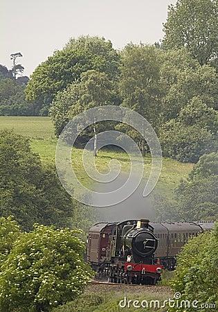 Locomotive à vapeur historique