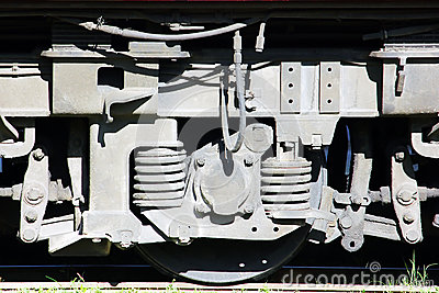 locomotive, close up wheel