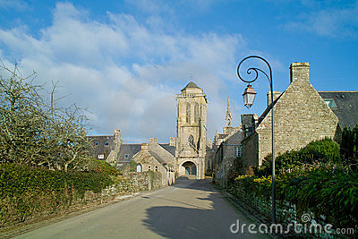 Locronan in brittany