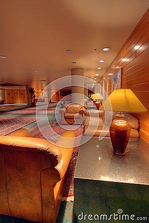Lodge atrium