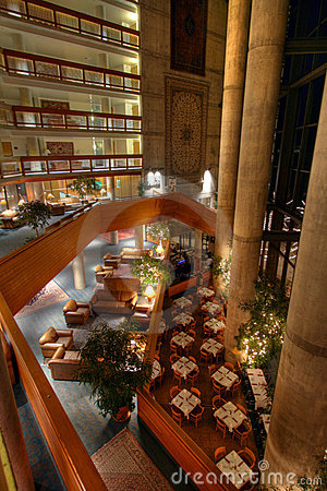 Lodge atrium overlook