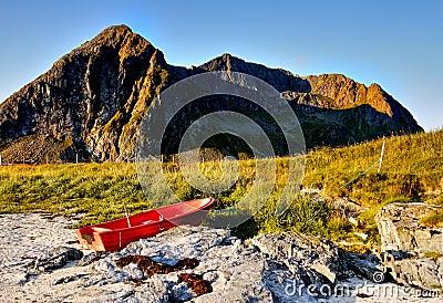 Lofoten, Coastline Landscape