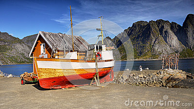 Lofoten, Fishing Boat, Fishery